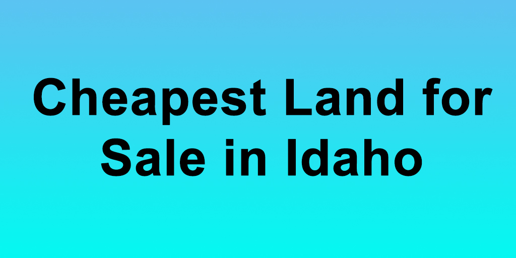 Properties For Sale In Idaho City
