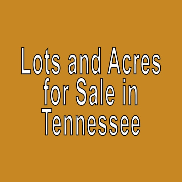 Buy Cheap Land in Tennessee