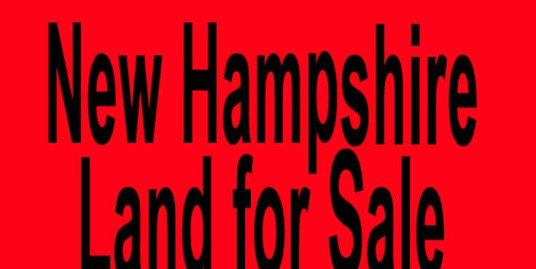 New Hampshire land for sale Manchester NH Nashua NH Buy New Hampshire land for sale in Manchester NH Nashua NH Buy land in NH