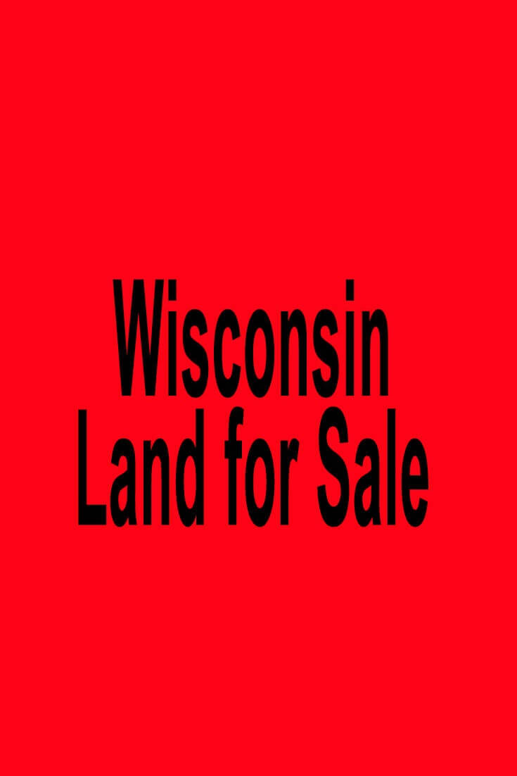 Wisconsin land for sale for Pictures for sale cheap