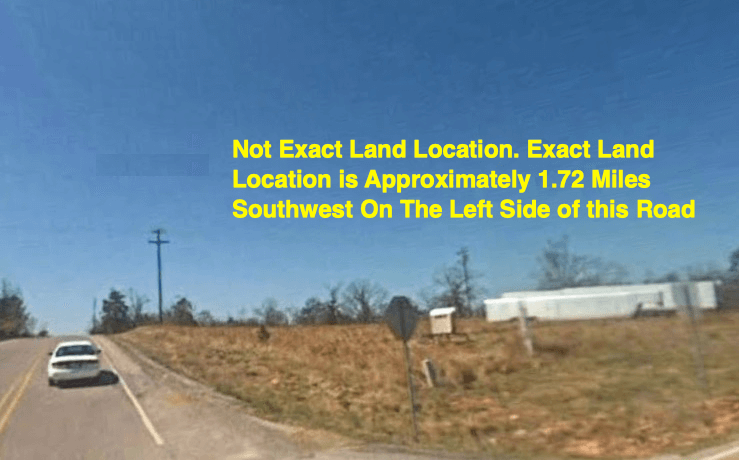 Long Narrow Lot. Previously Sold for $60k. Equity Sold for $60k!